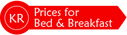Prices for Bed and Breakfast